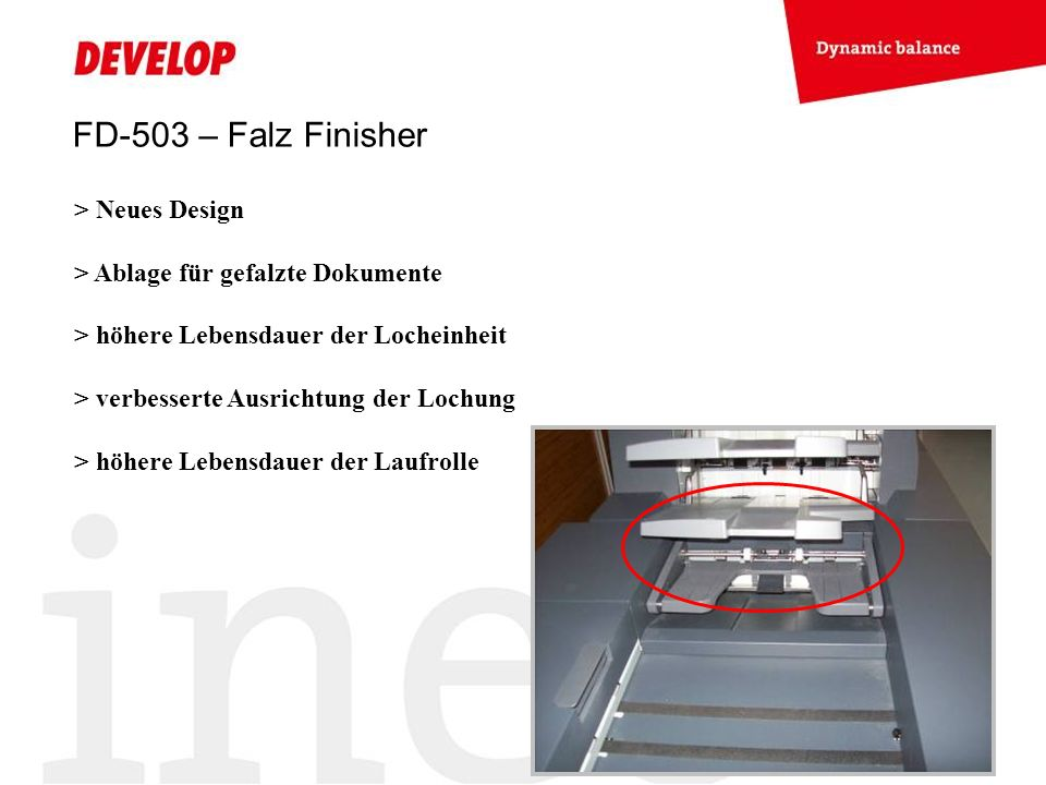 FD-503 – Falz Finisher > Neues Design