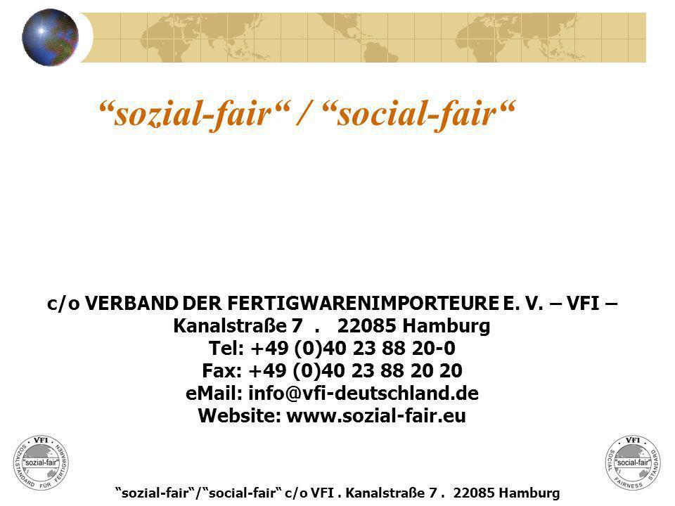 sozial-fair / social-fair