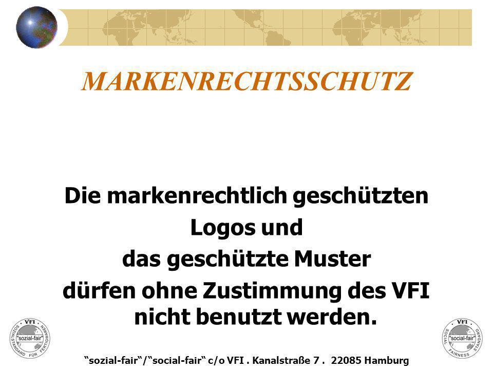 MARKENRECHTSSCHUTZ Die markenrechtlich geschützten Logos und