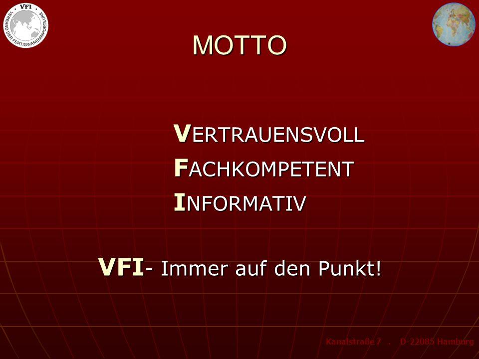 VFI- Immer auf den Punkt!