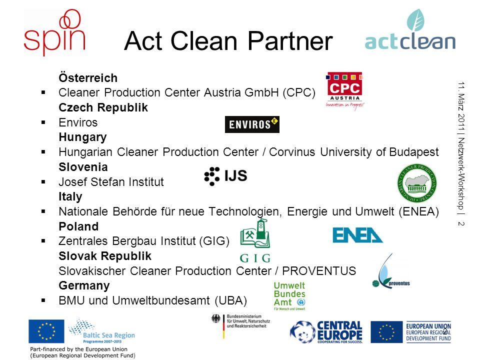 Act Clean Partner Österreich