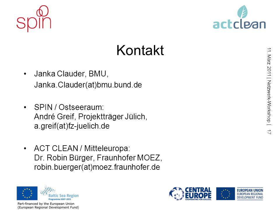 Kontakt Janka Clauder, BMU, Janka.Clauder(at)bmu.bund.de