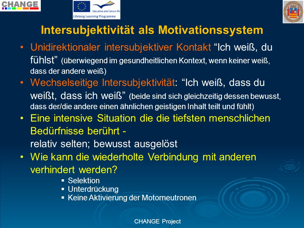 Intersubjektivität als Motivationssystem