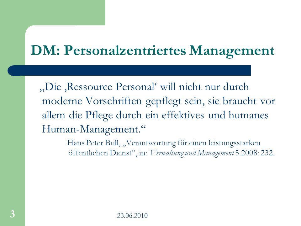 DM: Personalzentriertes Management