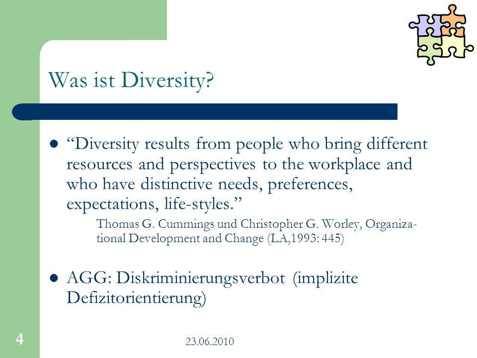 Was ist Diversity
