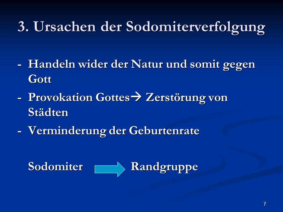 3. Ursachen der Sodomiterverfolgung