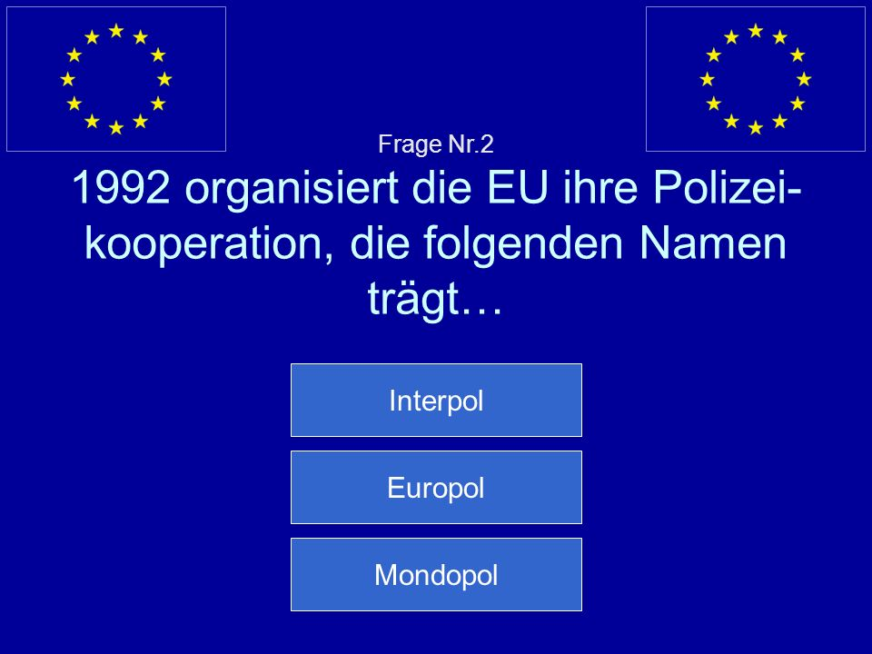 Interpol Europol Mondopol
