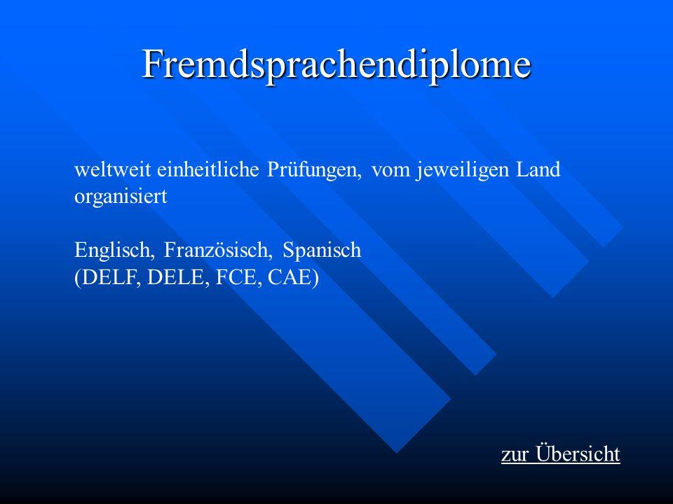 Fremdsprachendiplome
