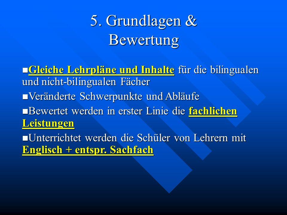 5. Grundlagen & Bewertung