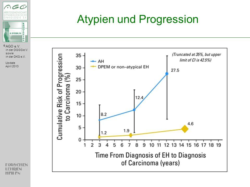 Atypien und Progression