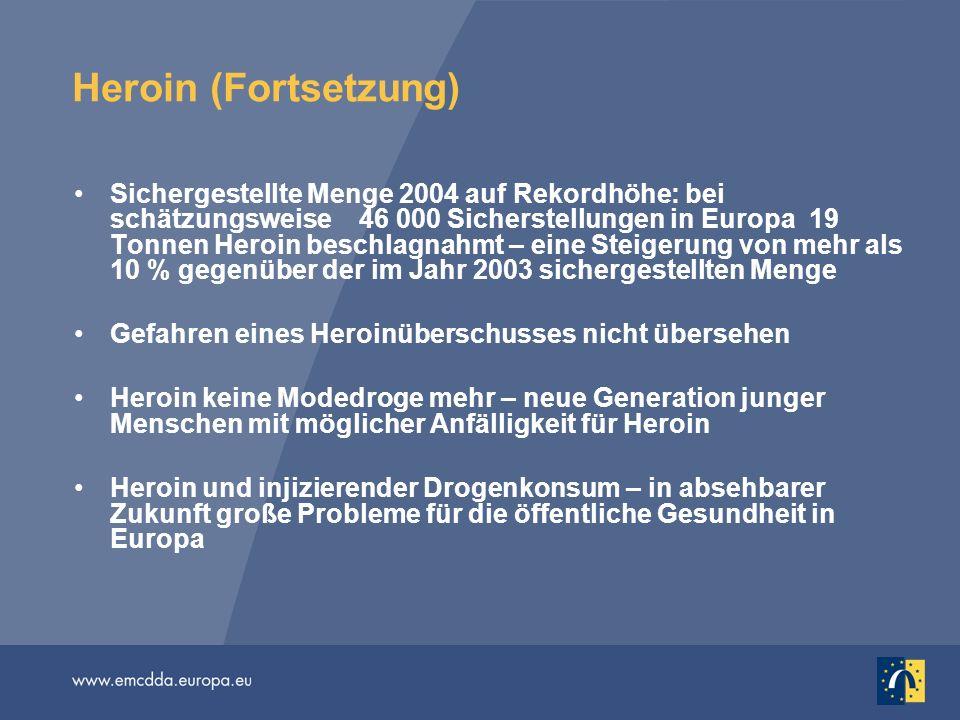 Heroin (Fortsetzung)