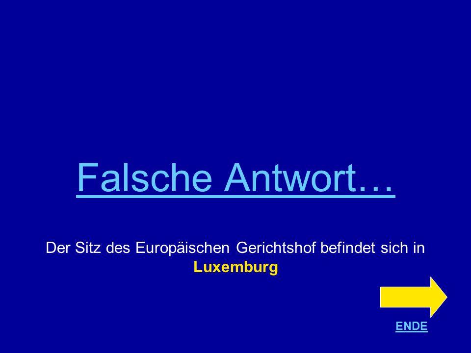 Der Sitz des Europäischen Gerichtshof befindet sich in Luxemburg