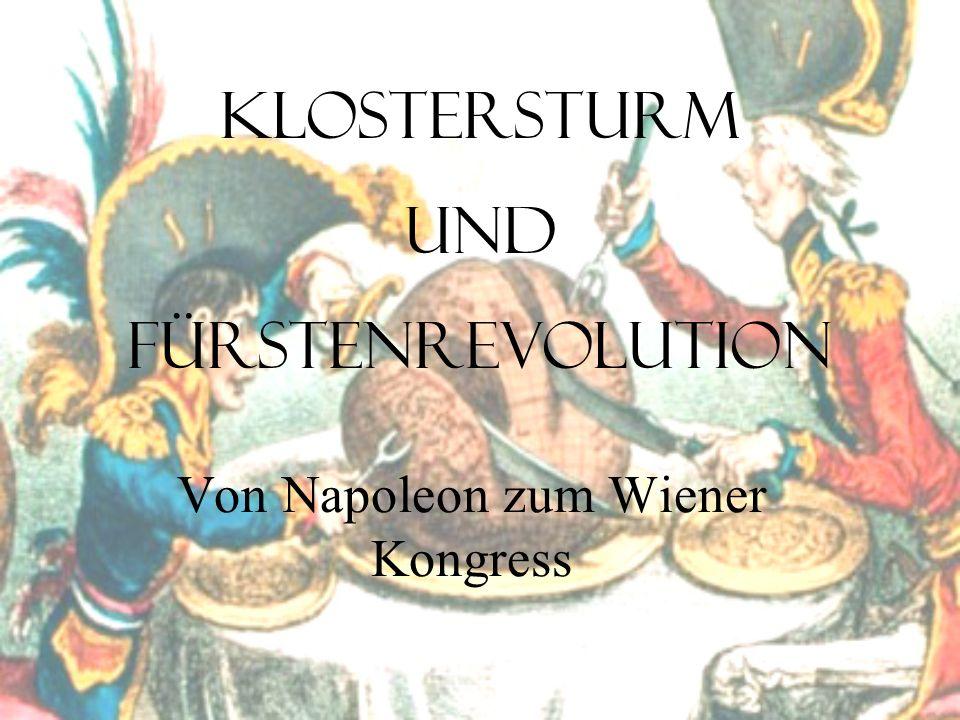 Von Napoleon zum Wiener Kongress