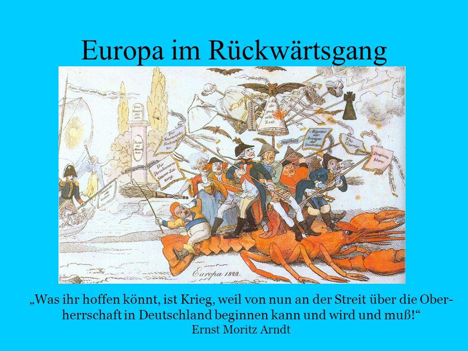 Europa im Rückwärtsgang