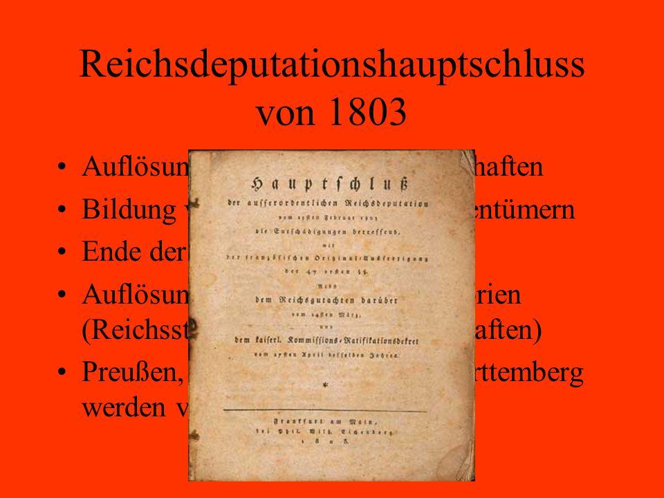 Reichsdeputationshauptschluss von 1803