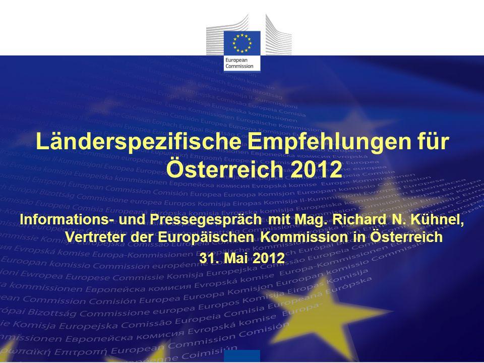 Länderspezifische Empfehlungen für Österreich 2012