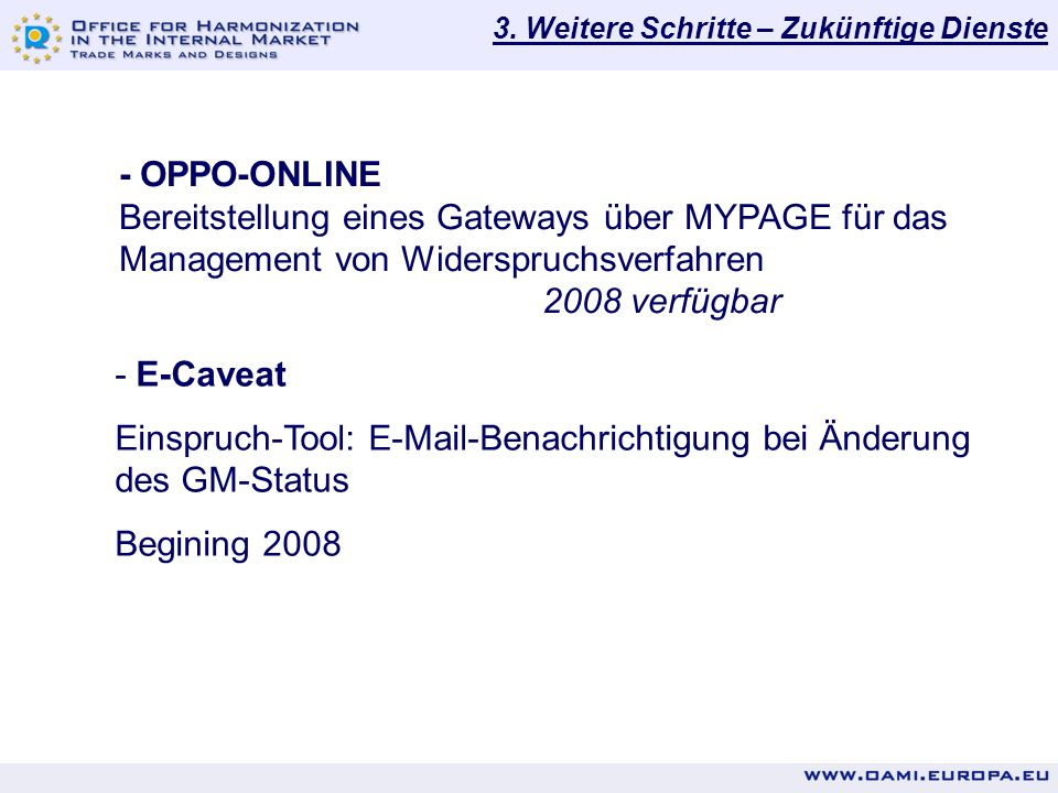 Einspruch-Tool: E-Mail-Benachrichtigung bei Änderung des GM-Status