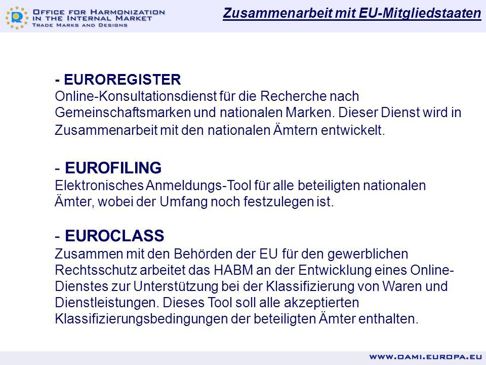 EUROFILING EUROCLASS - EUROREGISTER