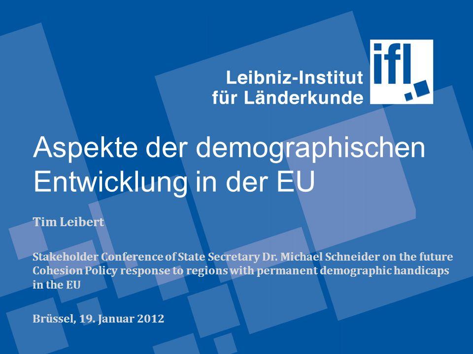 Aspekte der demographischen Entwicklung in der EU
