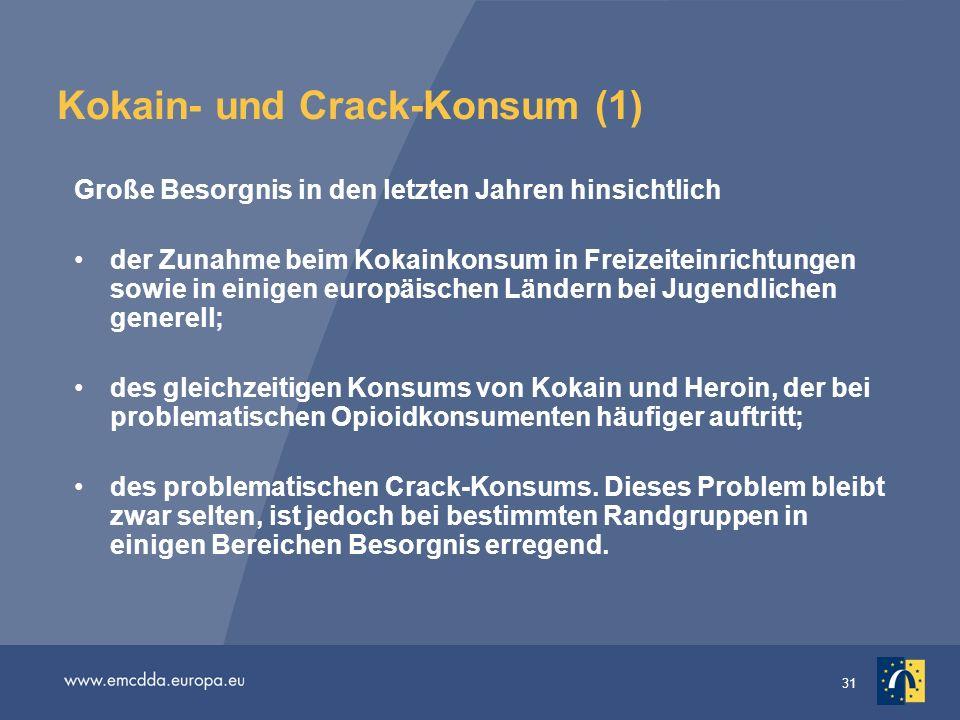 Kokain- und Crack-Konsum (1)