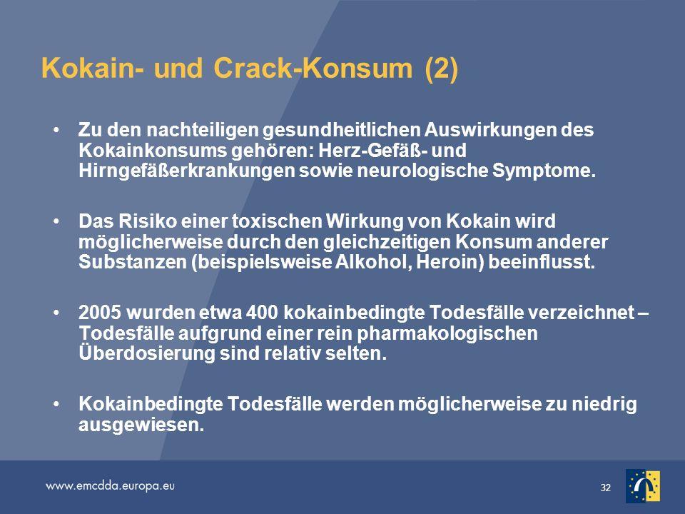 Kokain- und Crack-Konsum (2)