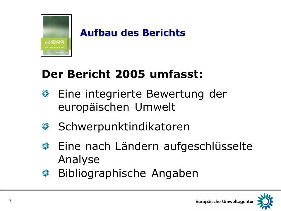 Eine integrierte Bewertung der europäischen Umwelt