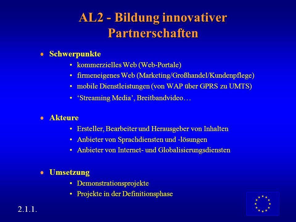 AL2 - Bildung innovativer Partnerschaften