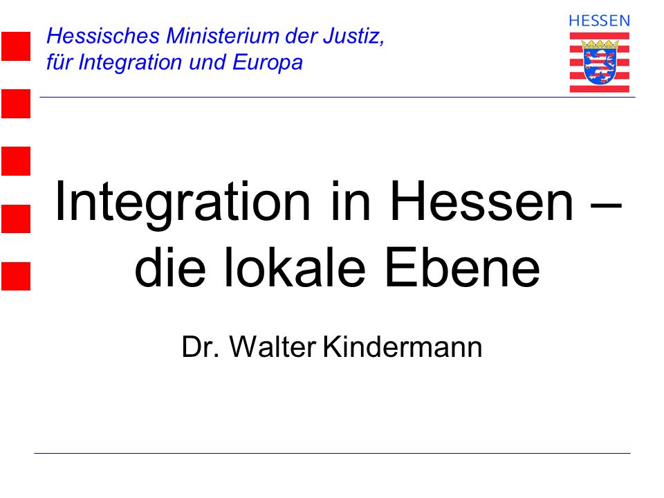 Integration in Hessen –