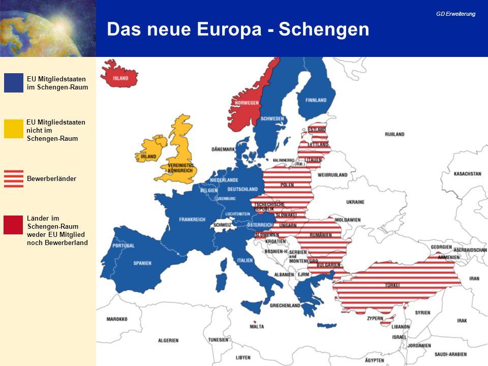 Das neue Europa - Schengen