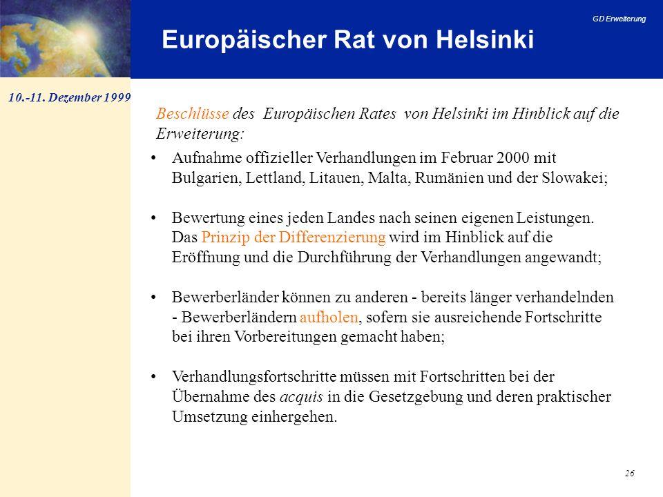 Europäischer Rat von Helsinki