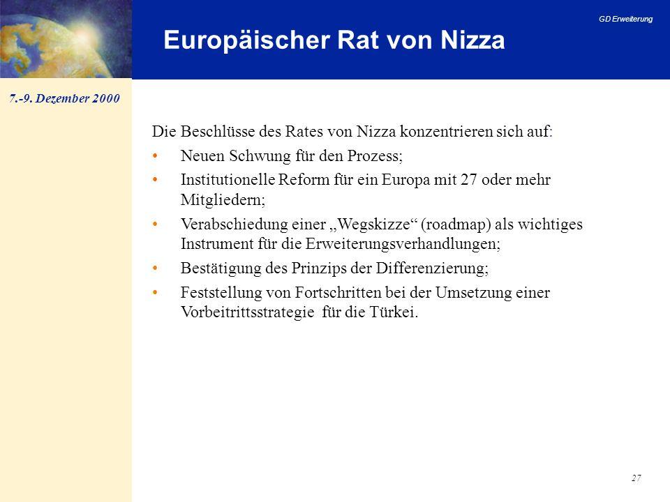 Europäischer Rat von Nizza