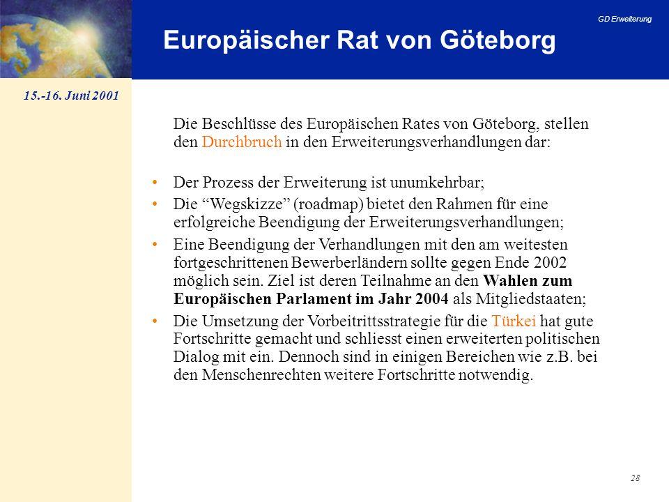 Europäischer Rat von Göteborg