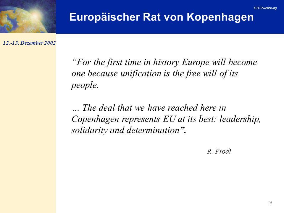Europäischer Rat von Kopenhagen