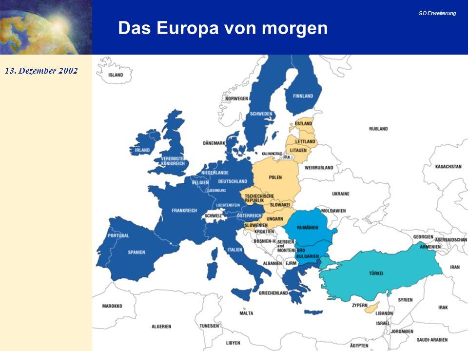 Das Europa von morgen 13. Dezember 2002