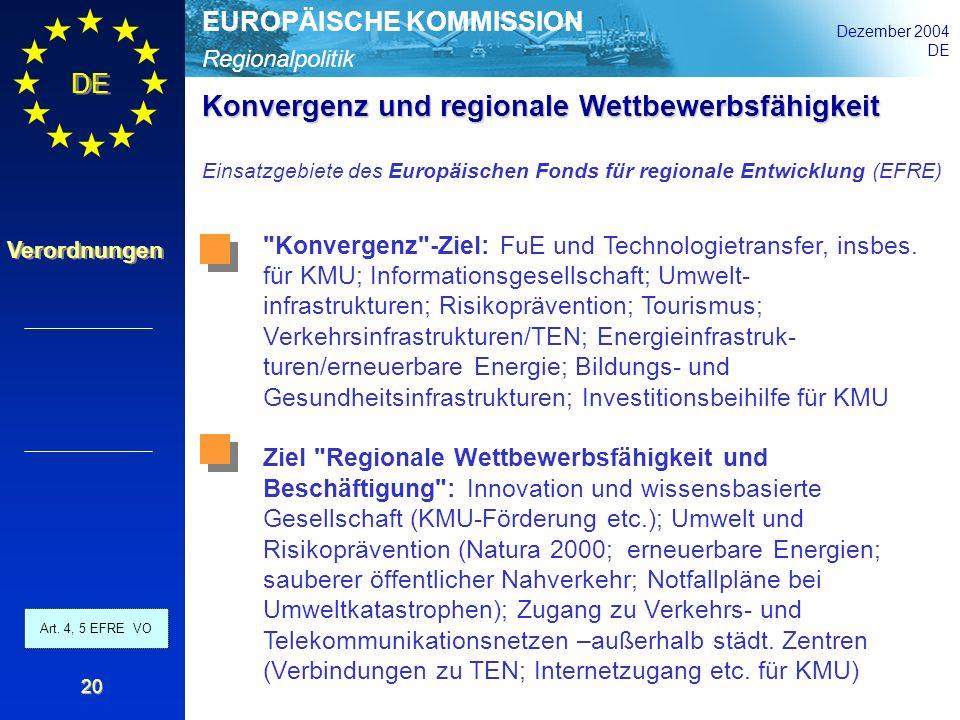 Konvergenz und regionale Wettbewerbsfähigkeit