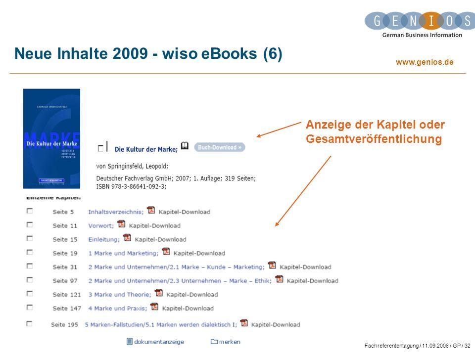 Neue Inhalte 2009 - wiso eBooks (6)