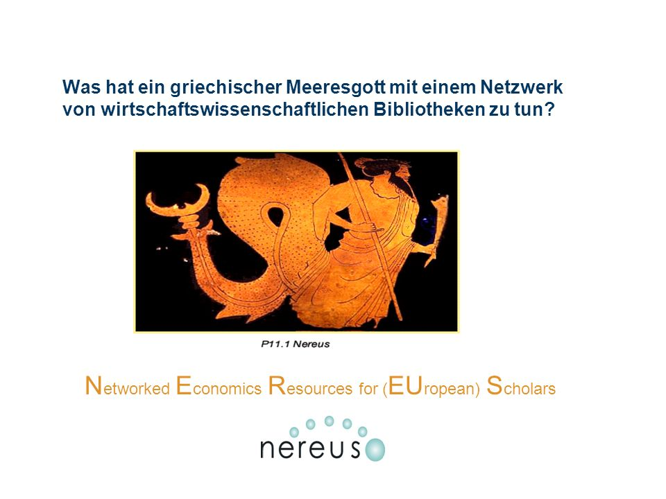 Networked Economics Resources for (EUropean) Scholars