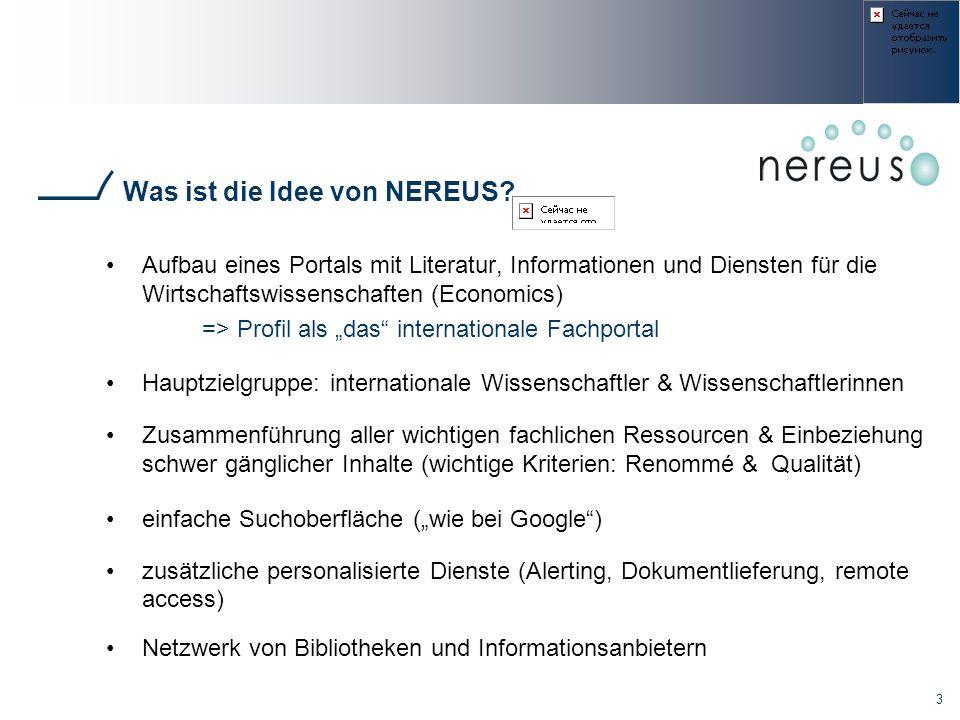 Was ist die Idee von NEREUS