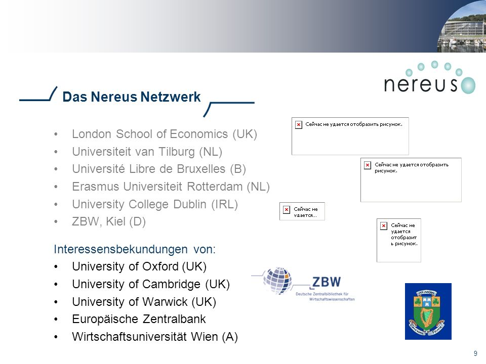 Das Nereus Netzwerk London School of Economics (UK)