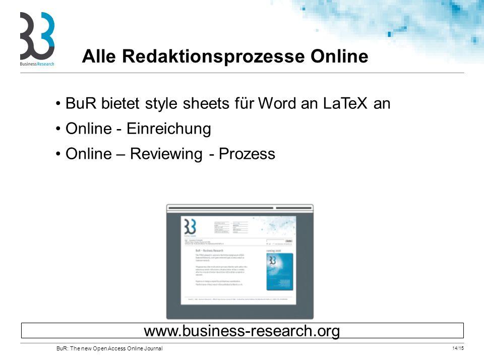 Alle Redaktionsprozesse Online