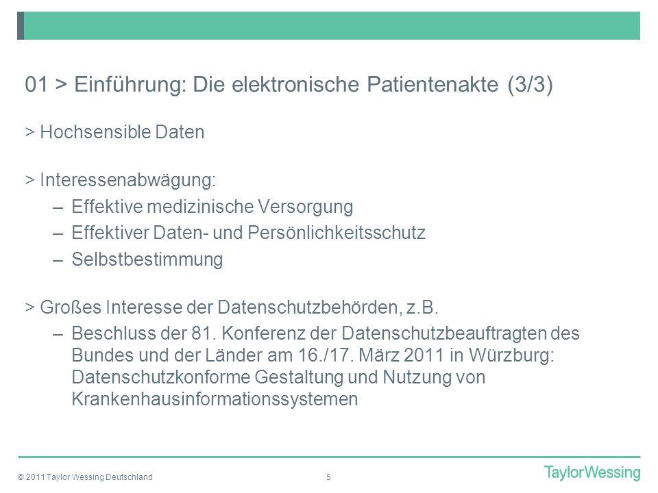 01 > Einführung: Die elektronische Patientenakte (3/3)