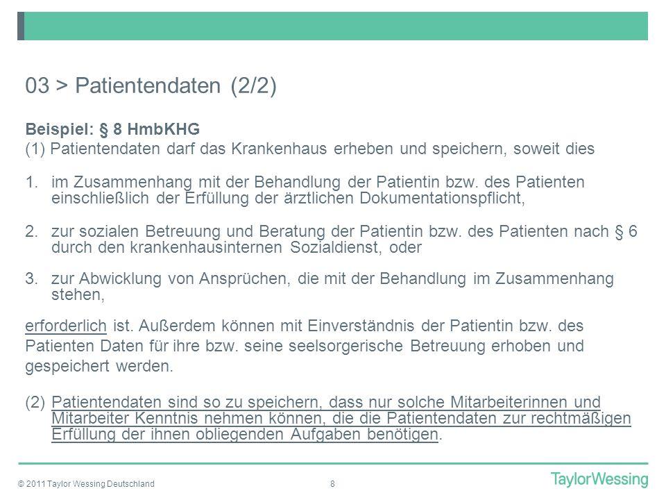 03 > Patientendaten (2/2)