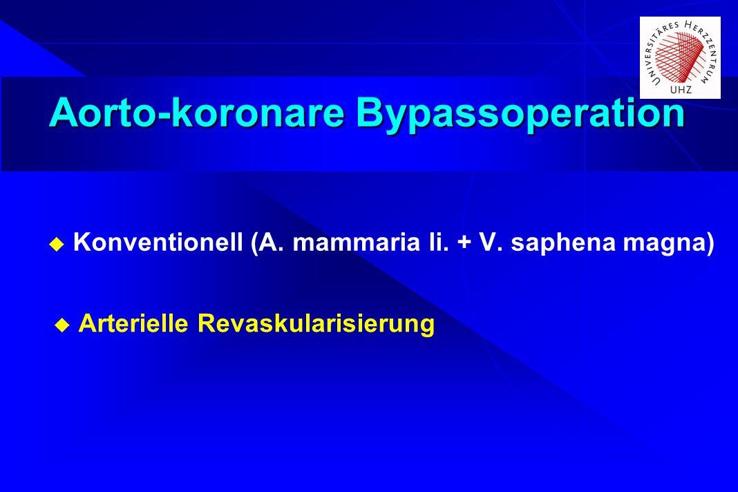 Aorto-koronare Bypassoperation