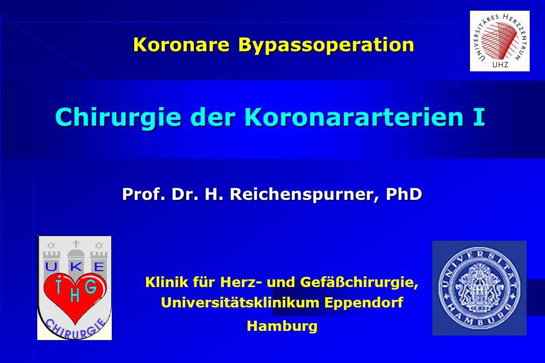 Chirurgie der Koronararterien I
