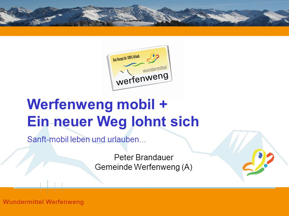 Peter Brandauer Gemeinde Werfenweng (A)