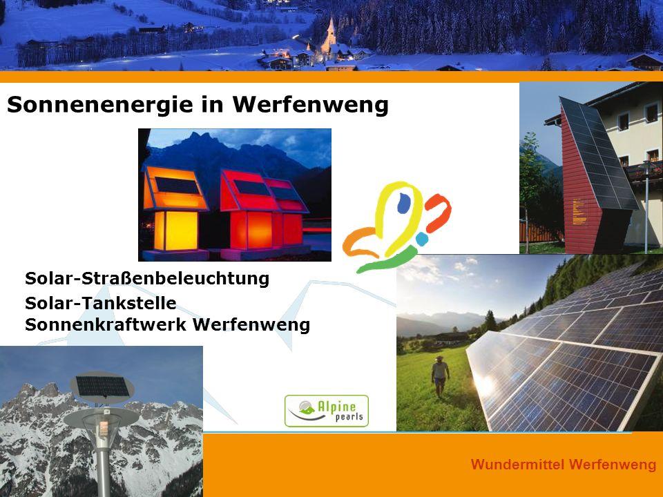 Sonnenenergie in Werfenweng