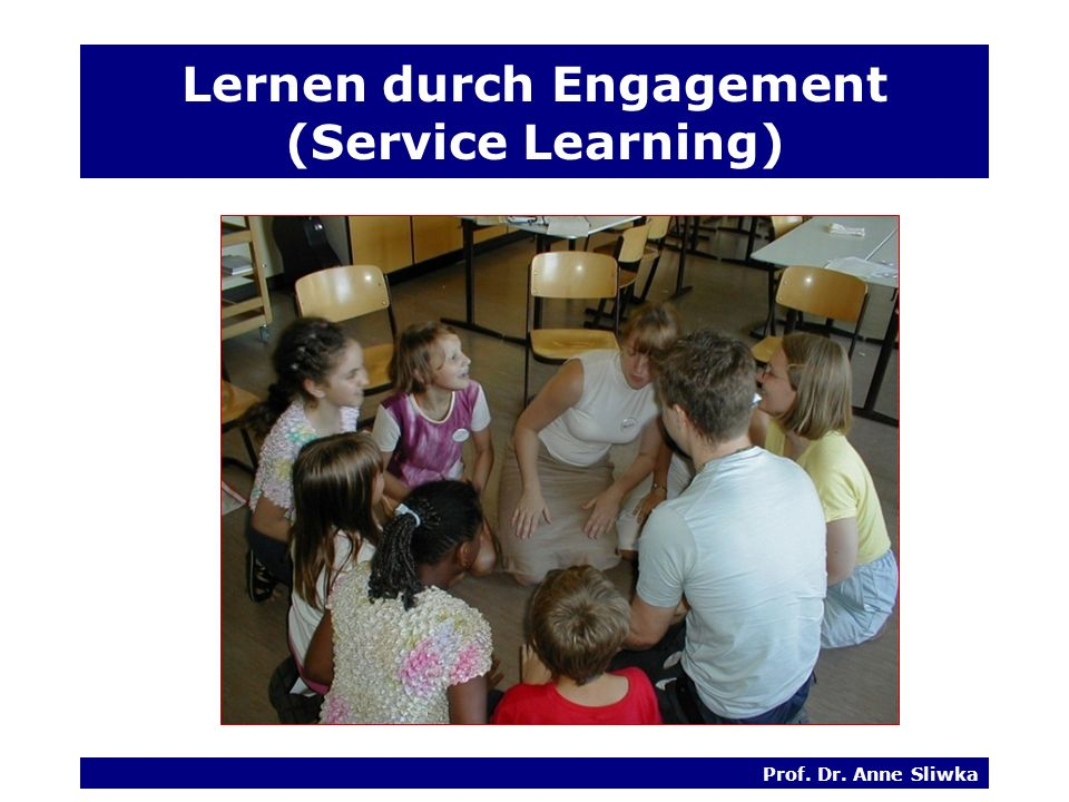 Lernen durch Engagement (Service Learning)