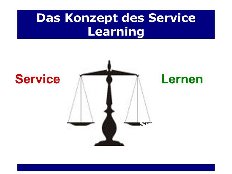 Das Konzept des Service Learning