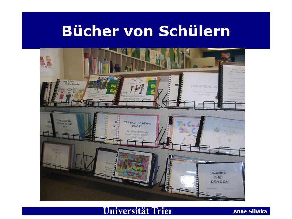 Bücher von Schülern Universität Trier Anne Sliwka
