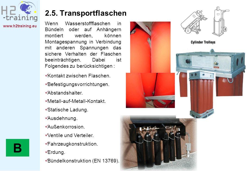 2.5. Transportflaschen